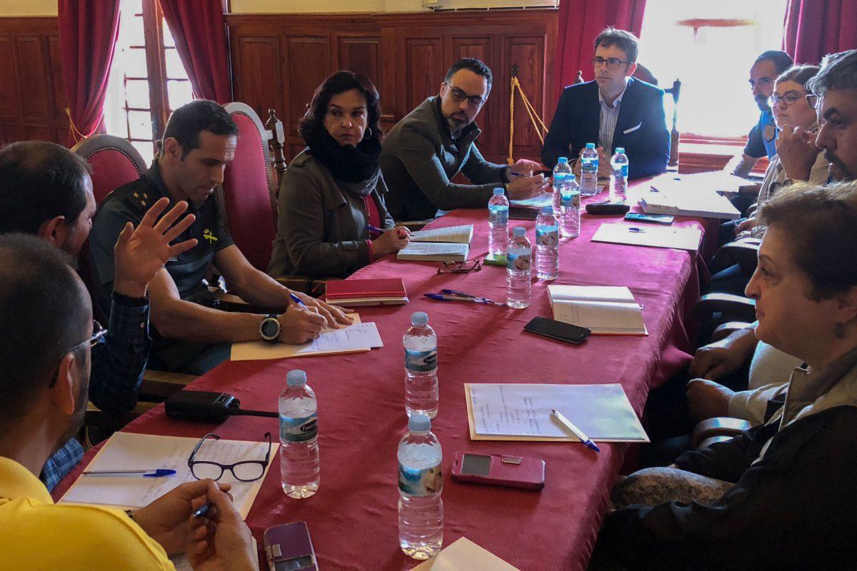 Comienzan las reuniones de cara al dispositivo de seguridad de las Fiestas Lustrales de La Gomera