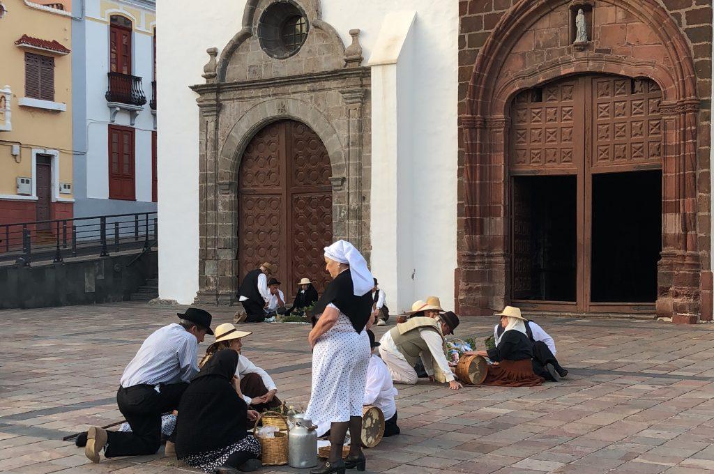 San Sebastián acoge este fin de semana el rodaje del primer spot de las Fiestas Lustrales de La Gomera