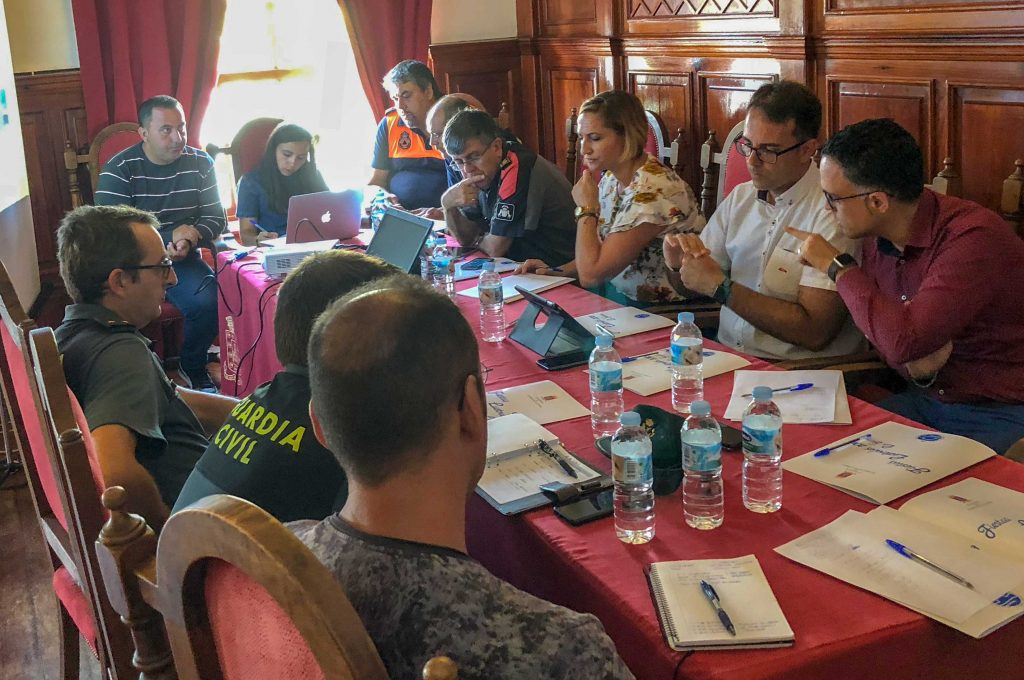 Avanzan los preparativos del dispositivo de seguridad de las Fiestas Lustrales de La Gomera